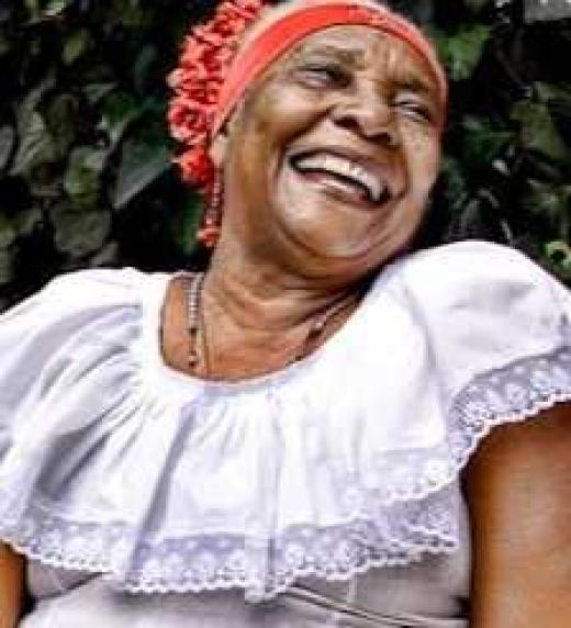 Petrona Martínez es una cantante afrocolombiana de música autóctona de la Costa Caribe de Colombia.