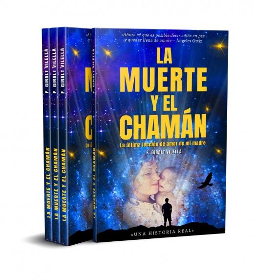 Ejemplares del libro LA MUERTE Y EL CHAMAN: LA ÚLTIMA LECCIÓN DE AMOR DE MI MADRE (no ficción)