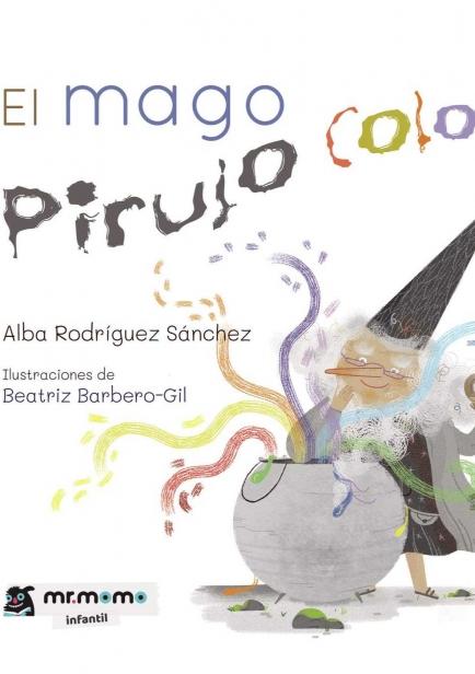 El mago Pirujo Color por Las pecas de la profe.