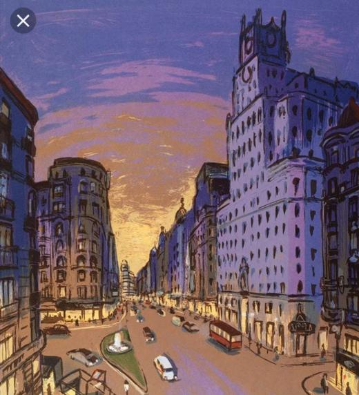 La ciudad de Madrid, donde transcurre parte de la historia
