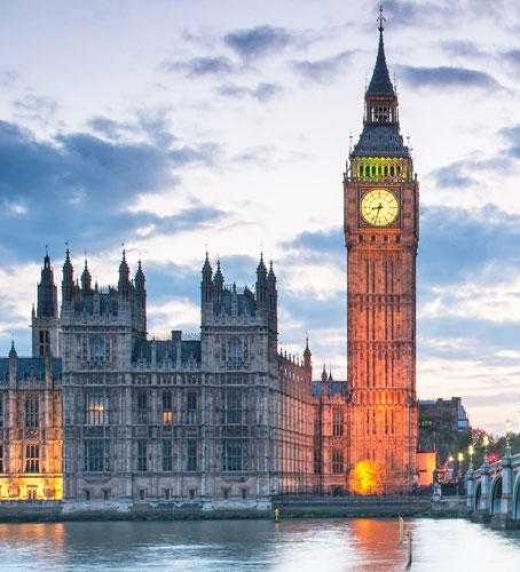 Londres, la otra ciudad en la que transcurre la trama de la historia