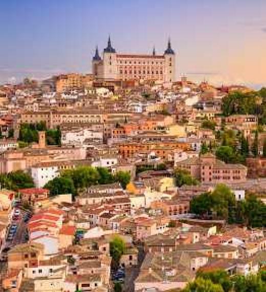 Toledo, escenario de un atraco que desata el caos.
