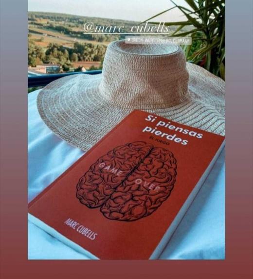Imagen realizada en alemania por una lectora del libro