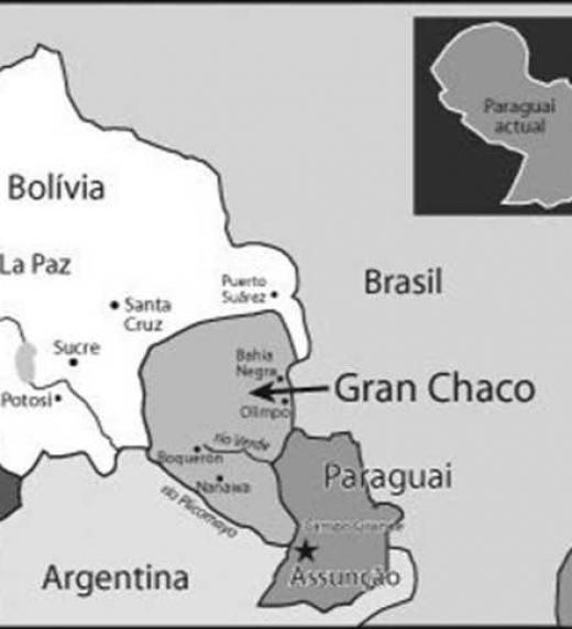 La guerra del Chaco, entre Paraguay y Bolivia se libró desde el 9 de septiembre de 1932 hasta el 12 de junio de 1935, por el control del Chaco Boreal. Fue la guerra más importante en Sudamérica durante el siglo XX.