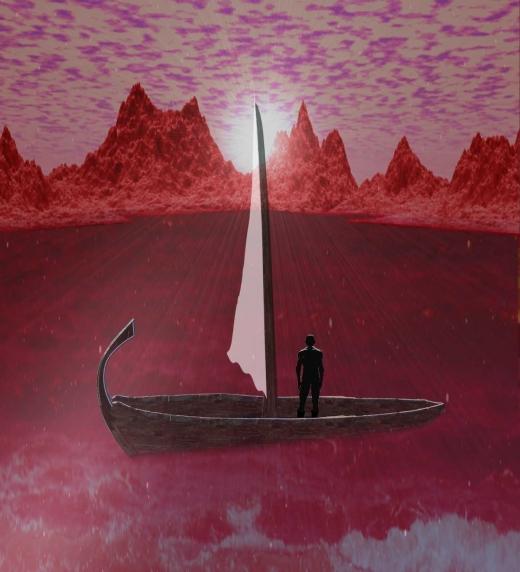 Máreck atraviasa un océano desconocido y descubre un nuevo mundo