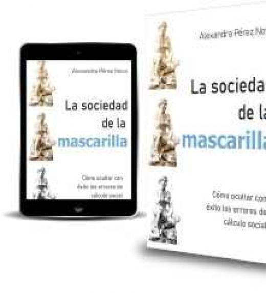 promoción del libro la sociedad de la mascarilla