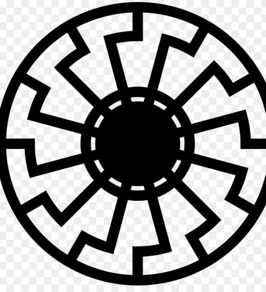Símbolo de la mitología nórdica relativo al Sol Negro y los Seres Hiperbóreos y que guarda relación con un culto religioso nazi mencionado en la novela negra LGTB titulada LA FORTALEZA DEL SOL NEGRO
