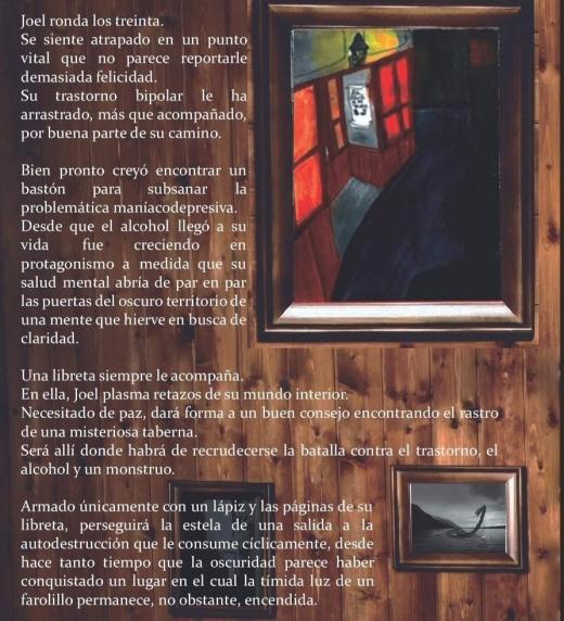 Cubierta trasera de la segunda entrega independiente de la saga Identidad.