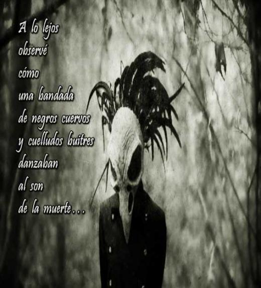 Imagen del poema: A lo lejos observé