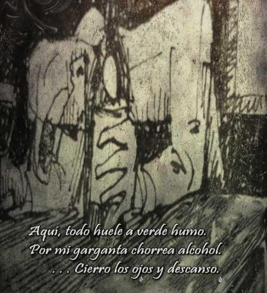Imagen del poema: Pensión de a veinte