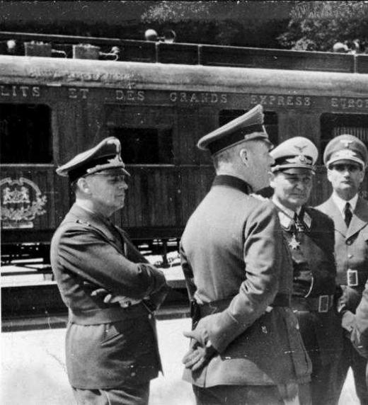 Venganza de Hitler en el vagón de Compiégne