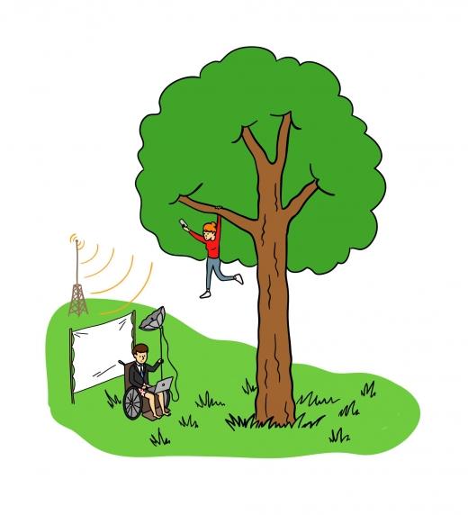 En algunos pueblos hay que subirse a un árbol o ir a la cima del monte para hacer una llamada de teléfono o hacer una videoconferencia. Las Telecomunicaciones son básicas para conseguir la repoblación rural.