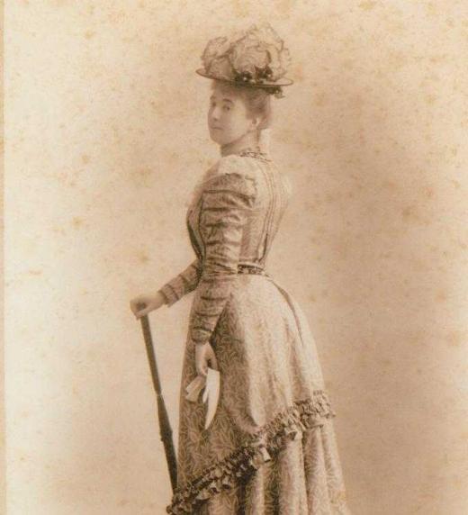 La rica esposa del infante Luis Fernando a quien su marido llevó a la ruina en el corto espacio de tiempo de cuatro años.