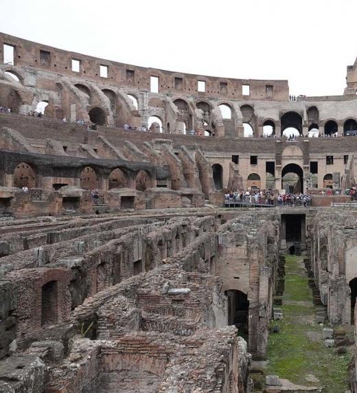 Foto del Coliseo en Roma