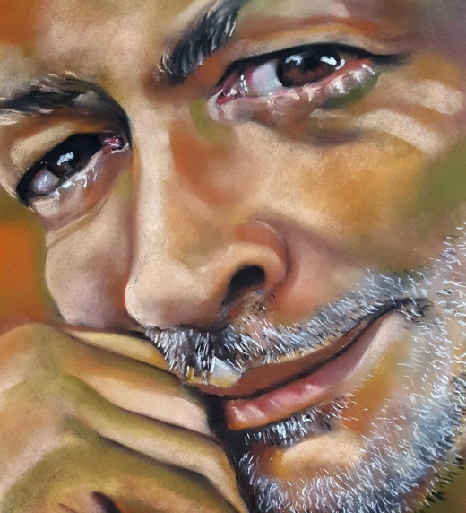Retrato de Marcos, exmarido de María, pintado por ella. Es seleccionado para un certamen de pintura al que se presenta después de mucho tiempo paralizada. Lo continúa queriendo con locura.
