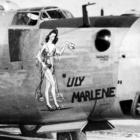 plane with girl lili marleen
