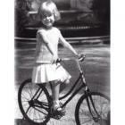 Cayetana en bicicleta