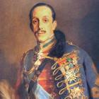 retrato de Alfonso XIII