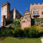 Castillo de la Edad Media en Turìn