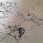 Dibujo de Aleph Sánchez para la obra. http://www.elalephart.com