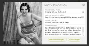 señorita de los años 30 en camisón