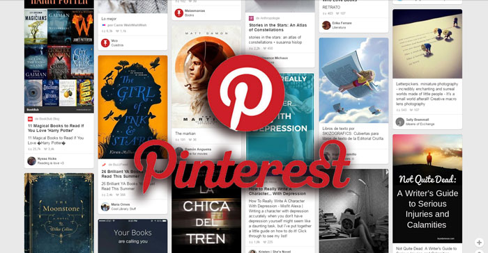 Pinterest ofrece interesantes ventajas para promocionar nuestros libros o ebooks